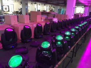 qdot lighting age testing production line