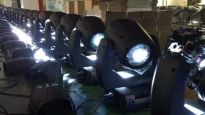 moving head aging test