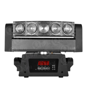 5pcs 8W White or 10W 4in1 LED effect beam moving head light with infinite PAN/TILT movement