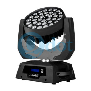 LEDZOOM 360F 36pcs 10w 4in1 LED moving head wash zoom light