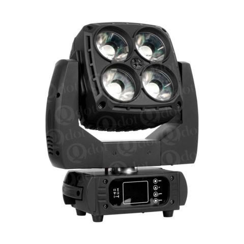 4pcs 60w osram 4in1 led panel wash moving head light