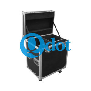 2 in 1 flight case for lighting fixtures and other equipment