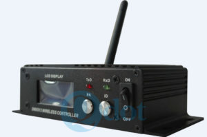 WI-LCD DMX512 wireless receiver/transmitter for lighting fixtures