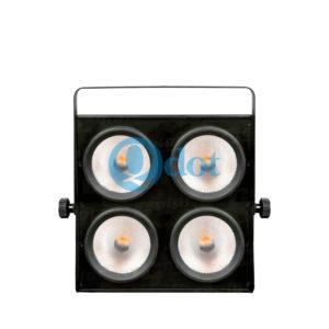 4pcs 90W warm white 3000k CREE COB LED blinder light 2