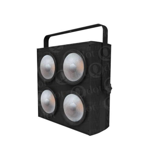 4PCS 100W 3000K warm white CREE COB LED blinder light