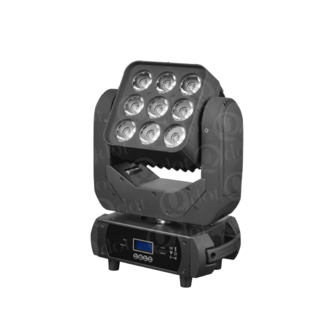 MADPANEL 910F 9pcs 10w 4in1 matrix panel moving head light