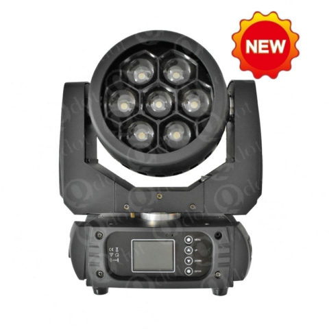 QZOOM 715F/715FP 7pcs 15W 4in1 mini wash zoom