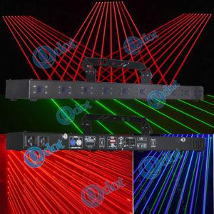 QL-10S(R.G.B) laser beam bar 10 eye red/green/blue