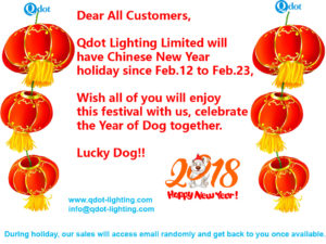 Qdot Lighting CNY holiday